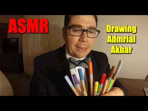 ASMR Drawing Admiral Akbar