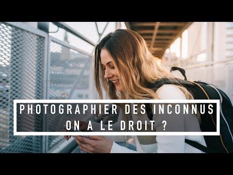 On a le DROIT de PHOTOGRAPHIER/FILMER des INCONNUS dans la RUE ?