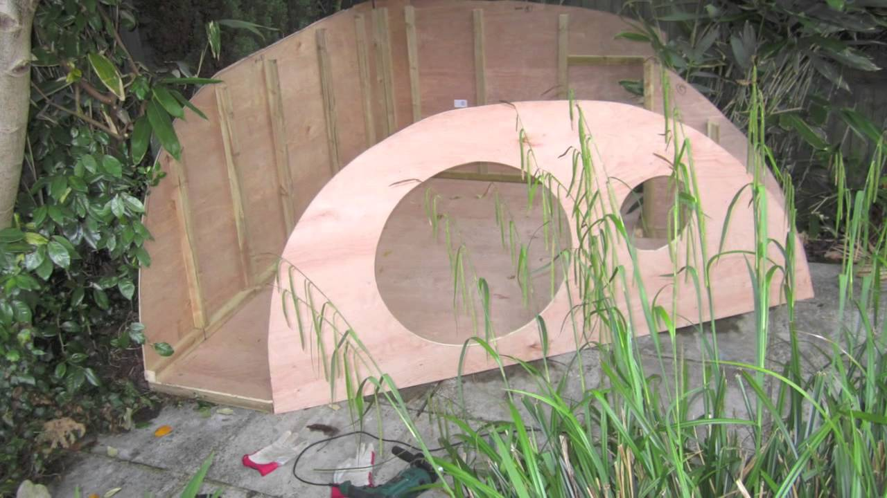 Making The Hobbit House You