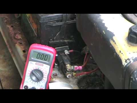 hqdefault basic electrical troubleshooting for lawn & garden tractors youtube  at mifinder.co