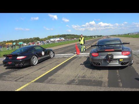 1400HP Porsche 9ff GTronic vs 1200HP Nissan GT-R R35 vs 1300HP 9ff TR1300