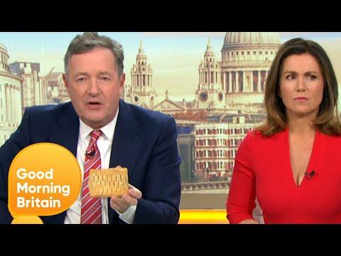 Susanna Gets Piers a Greggs' Vegan Steak Bake | Good Morning Britain
