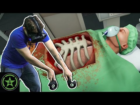 Let's Play - VR Surgeon Simulator ER: Experience Reality