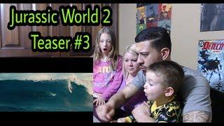 Jurassic World 2 - Teaser Trailer #3 - Reaction! #ClarkCrewReviews