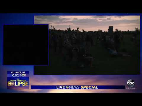 Eclipse 2017 Alliance, Nebraska 🌝🌚