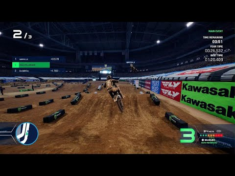 The Ending is Hilarious Monster Energy Supercross - The Official Videogame 4 |