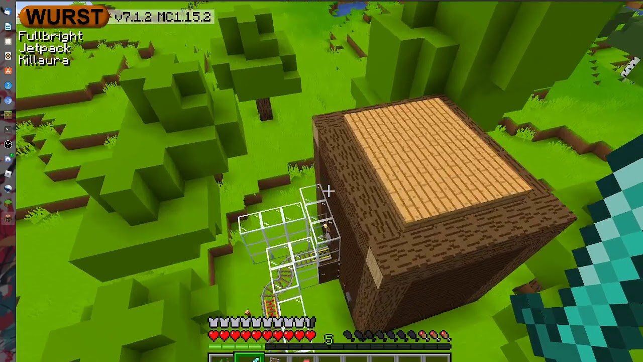 survival minecraft with a TwIsT  {episode no. 2}