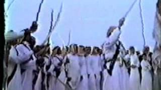 Arabian sword dances