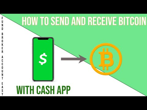 How To Send (Withdraw) & Receive (Deposit) Bitcoin W/ Cash App! | Fund Trading Account Easy
