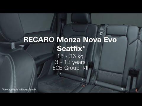 RECARO Monza Nova Evo SEATFIX: How To Install The Child Seat Correctly