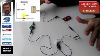 Basit Elektrik Devresi Nasıl Yapılır-Nasıl Hazırlanır - kolay anlatım 2017 model