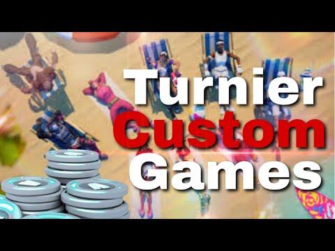 50€ Custom Games Turnier + Clan Member gesucht!!! | Fortnite Stream