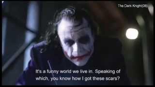 """【spoiler】The Dark Knight (clip18) -""""a little push"""""""
