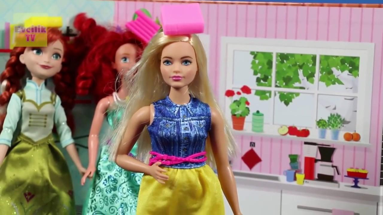 Barbie Prenses Okulu 2 çizgi Film Tadında Pamuk Prenses Ve
