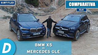 Comparativa 4x4 ¡al límite!: BMW X5 vs Mercedes GLE | Prueba offroad | Diariomotor
