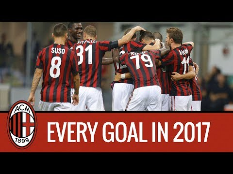 Every goal in 2017: watch our collection