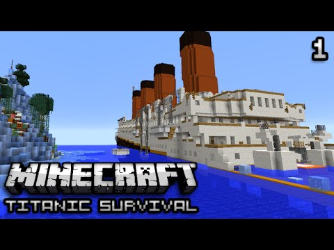Minecraft Titanic Survival Ep 1 Death Water Youtube