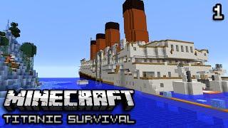 Minecraft: Titanic Survival Ep. 1 - DEATH WATER