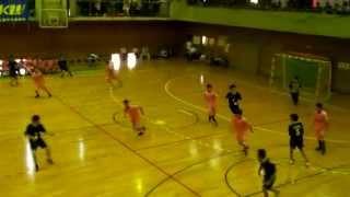 群馬県高校総体ハンドボール大会3位決定戦 最後の2分30秒
