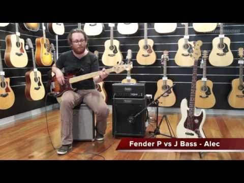 Fender Precision Bass vs Fender Jazz Bass | Better Music