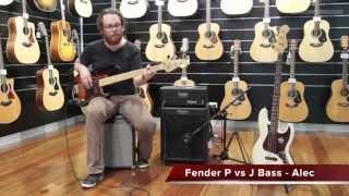 fender precision bass vs fender jazz bass better music