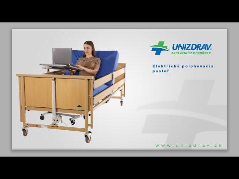 Elektrická polohovacia posteľ / polohovanie  - VIDEOMANUÁL
