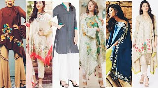Top stylish and trendy kurtis design/ sleeves design & dresses design for girls and women