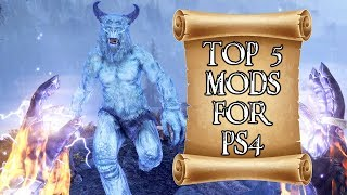 The best 5 #mods for #Skyrim on #PS4 that released in October 2018 ...