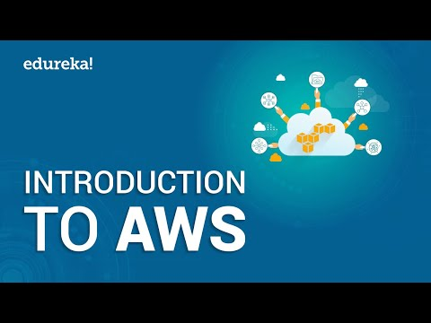 Introduction To Amazon Web Services | AWS Training Videos | AWS Tutorial for Beginners | Edureka