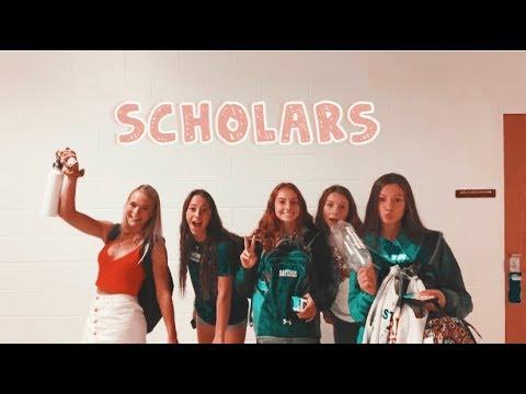 I vlog my school day in senior year
