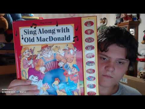 sing along with old mcdonald play a song book