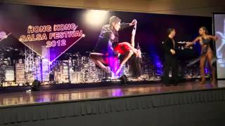 Singapore Salsa Performance Professional Category SemiFinals 4