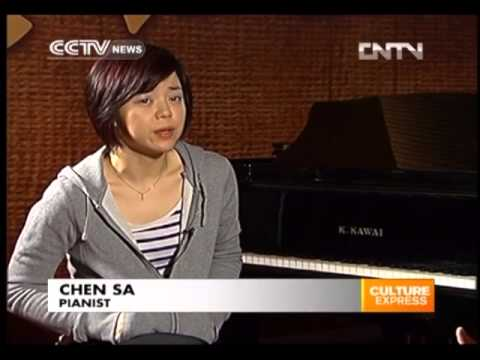 Exclusive  Chinese pianist Chen Sa's journey to world fame