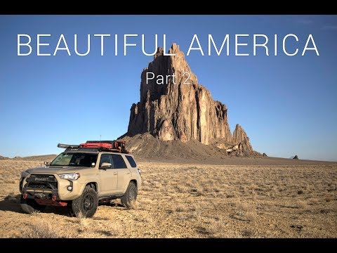BEAUTIFUL AMERICA - Part 2 - Shiprock, New Mexico
