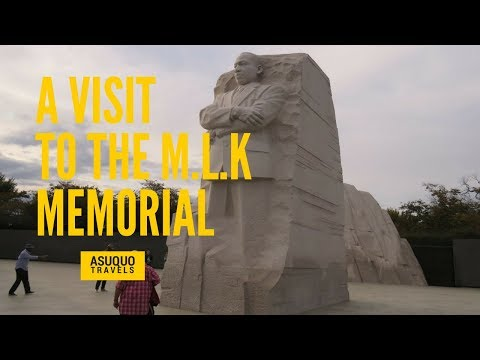 A VISIT TO THE MARTIN LUTHER KING, JR. MEMORIAL IN WASHINGTON, D.C. (VLOG #09)