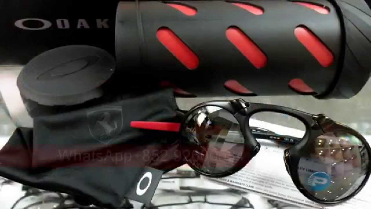 20a2798074a Oakley MADMAN X Metal POLARIZED FERRARI Asian fit - YouTube