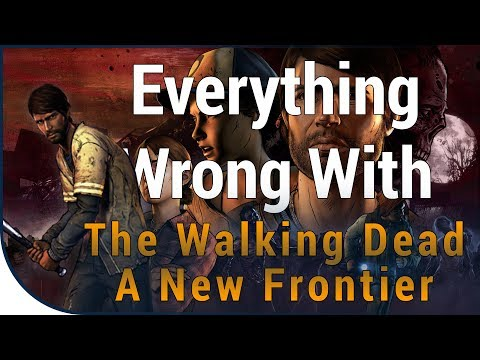 GAME SINS | Everything Wrong With The Walking Dead: A New Fr