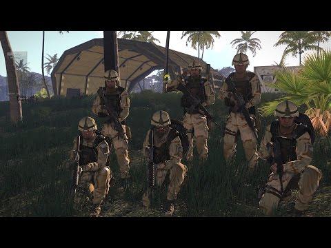 ARMA 3 mission Coop canard confilt de canard Esprit de corps simulation militaire