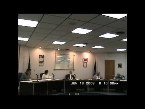 Rouses Point Village Board Meeting  6-16-08