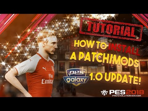 [TTB] PES 2018 - How to Install Patches/Mods - PES Galaxy 1.00 Update