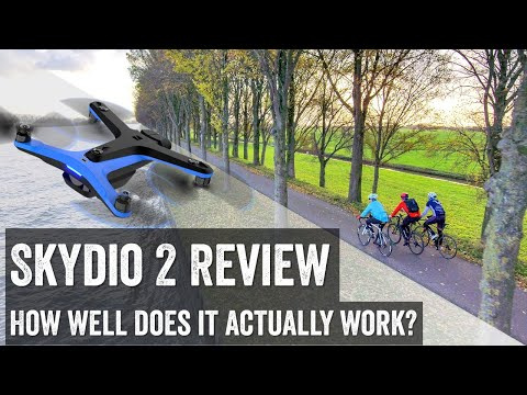 Skydio 2 Autonomous Sports Drone: Holy Cow!