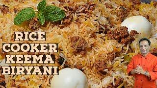 खीमा बिरयानी- Rice cooker keema biryani