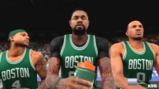 NBA 2K16 - Boston Celtics vs New York Knicks Gameplay (PC HD) [1080p60FPS]