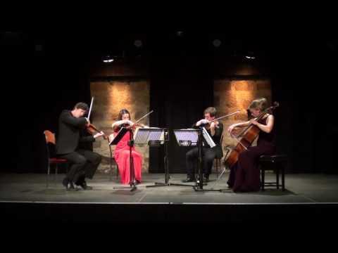 Mendelssohn - String Quartet in a minor op 13 - Brodick Quartet