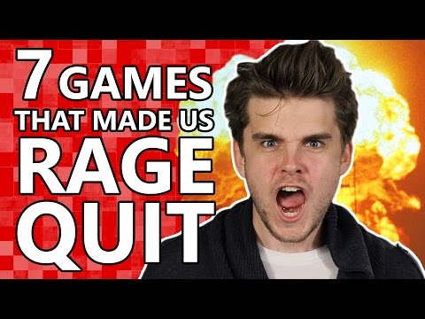 7 Games That Will Make You RAGE QUIT!
