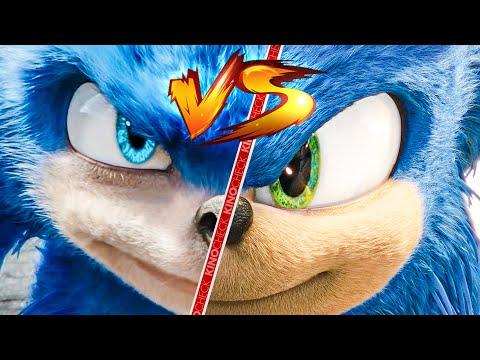 SONIC: The Hedgehog - New Vs Old Trailer Comparison (2020)