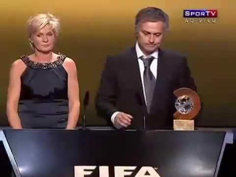 José Mourinho wins 2010 FIFA World Coach award
