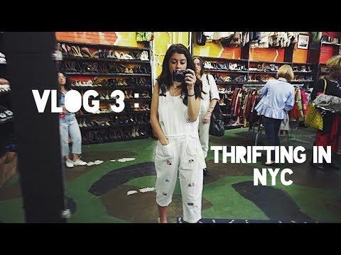 Vlog 3 : Best Thrifting in Brooklyn! (NYC)