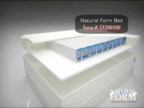 WJCT Auction -- Natural Form Bed - YouTube