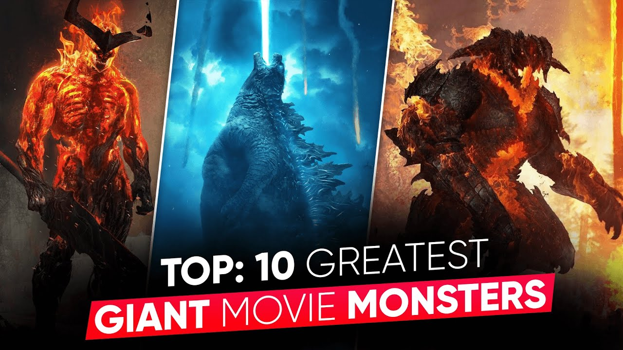 TOP 10: Greatest Giant Movie Monsters | Biggest Movie Monsters [Explained in Hindi ] Moviesbolt